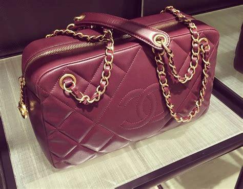 chanel camera bag  burgundy bragmybag