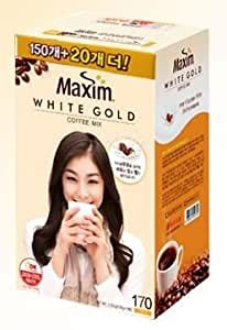 Differentiated roasting by beans, spr method, you can still feel the original taste and aroma of coffee with milk. Amazon.com : Maxim White Gold Instant Coffee - 170pks (Yuna Kim) : Grocery & Gourmet Food