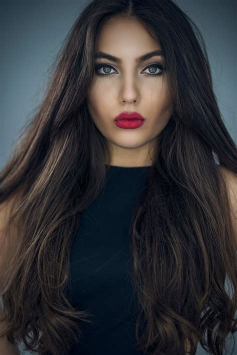 HD wallpapers hairstyles for thin long brown hair