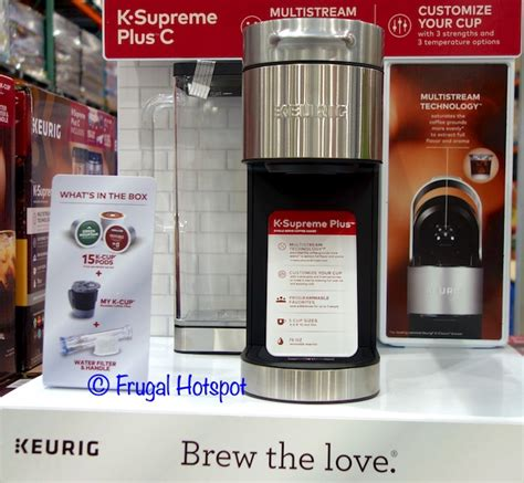 There are also carafe coffee pods that fit keurig's plus series models. with 15 K-Cup Pods Keurig K-Supreme Plus C Single Serve Coffee Maker