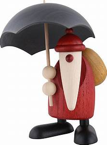 Köhler Kunsthandwerk Shop : santa claus with umbrella 12 cm by bj rn k hler kunsthandwerk ~ Sanjose-hotels-ca.com Haus und Dekorationen