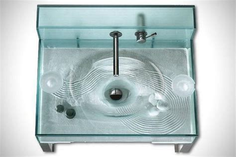 moody aquarium bathroom sink doubles   fish tank