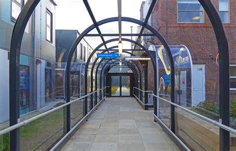 walkway canopies covered walkways walkway covers