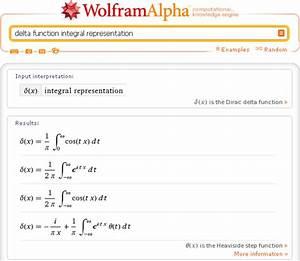 Delta Funktion Integral Berechnen : wolframalpha wolfram alpha ~ Themetempest.com Abrechnung