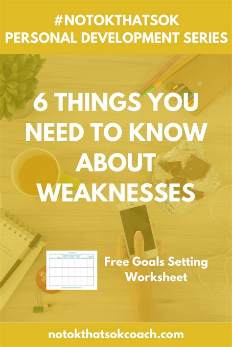 6 Things You Need To Know About Weaknesses  Millennial