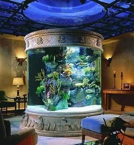 Fish Tank Room Design   100 Ideas Integrate Aquarium