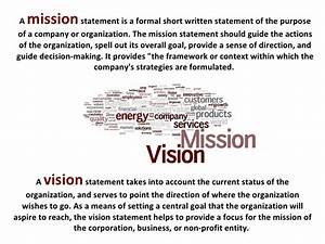 vision statement examples for business yahoo image With mission essential contractor services plan template