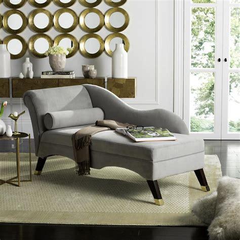 safavieh caiden modern grayespresso chaise lounge