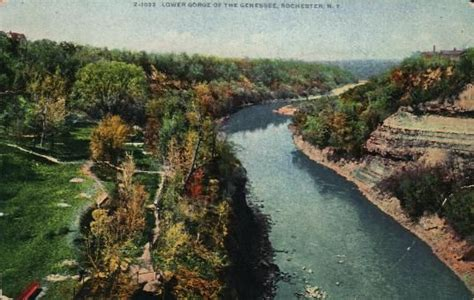 Ebay Boats Rochester Ny by Lower Gorge Of The Genesee River Rochester N Y