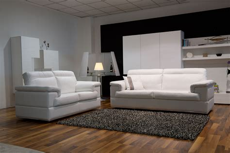 Leather Living Room Design by Contemporary Leather Sofa Set On Chrome Frame San Diego