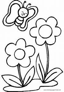Top 35 Free Printable Spring Coloring Pages Online Kids