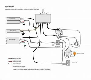 Dimarzio Hsh Guitar Wiring Diagram The Blog