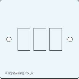 1 Gang 3 Way Light Switch Wiring Diagram : 3 gang light wiring ~ A.2002-acura-tl-radio.info Haus und Dekorationen