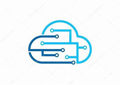 Cloud Internet Computing Technology Icon Sign Connection