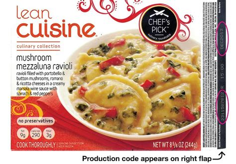 cuisine co lean cuisine issues recall of ravioli products after shards of glass are found daily mail
