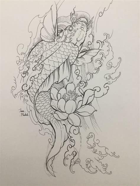 Trong đường quan lộ, cá chép là biểu tượng của sự thăng tiến, công danh. Hình ảnh của Luân Nguyễn trên Cá chép | Hình xăm nhật, Ý tưởng hình xăm, Nghệ thuật viết chữ