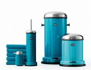 Accessoire Salle De Bain Bleu : accessoire salle de bain bleu turquoise ~ Teatrodelosmanantiales.com Idées de Décoration