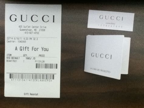 gucci receipt template printable receipt template