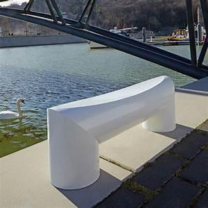 Banc Exterieur Design : banc flaque mobilier ext rieur design ~ Teatrodelosmanantiales.com Idées de Décoration