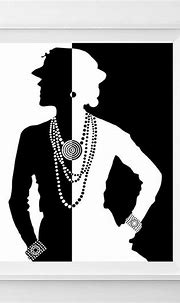 chanel poster, chanel home decor, coco chanel poster ...