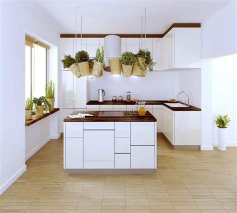 Polish Firm White And Wood Kitchen  Interior Design Ideas