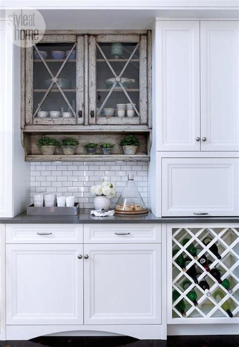 built in wine rack cabinet style at home kitchens built in wine rack criss cross