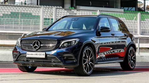mercedes amg glc  matic  coupe launched  suv