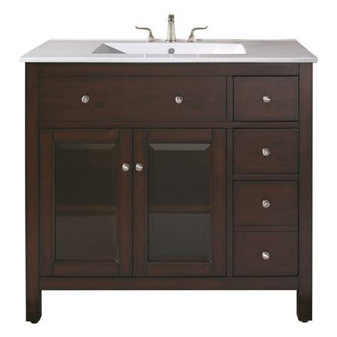 36 vanity with sink 36 inch single sink bathroom vanity with ceramic