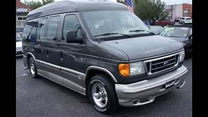 2004 Ford Econoline Explorer Conversion Walkaround  Start