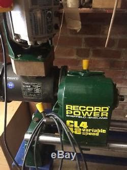 record power lathe cl variable speed   england