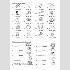 A Or An  Kids And Parenting  English Grammar Worksheets, English Classroom, English Lessons