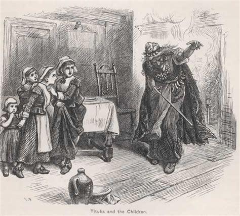 salem witch trials tituba images