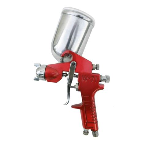 sprayit gravity feed spray gun with aluminum swivel