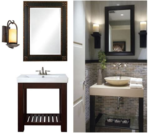 Bathroom Mirror Makeovers by Metal Frame Wall Mirror Small Bathroom Makeovers Small