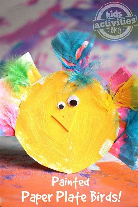 adorable paper plate bird craft bird crafts preschool