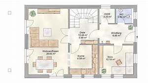 Haus Grundriss Ideen Einfamilienhaus : einfamilienhaus mit schmalem grundriss ~ Lizthompson.info Haus und Dekorationen