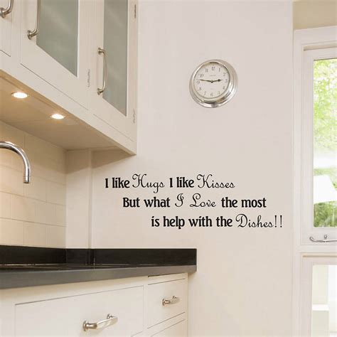 Kitchen Wall Decals  Home Christmas Decoration