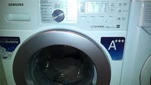 Machine A Laver 7kg : lave linge eco bubble samsung youtube ~ Premium-room.com Idées de Décoration