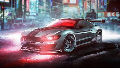 Mustang Gt350r Shelby Ford Cyclops Background Wallpapers