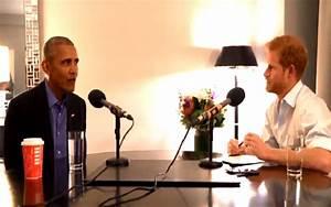 Conversation: Prince Harry Interviews Barack Obama for ...