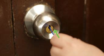 Bedroom Door Is Locked From Inside by How To Make A Bump Key With Pictures Wikihow