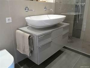 meuble salle de bain gris perle With meuble salle de bain gris perle