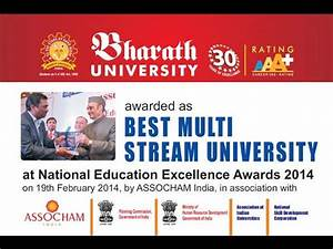 Bharath University bags The National Education Excellence ...