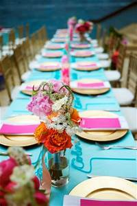 Quinceanera Color Palette Ideas LinenTablecloth