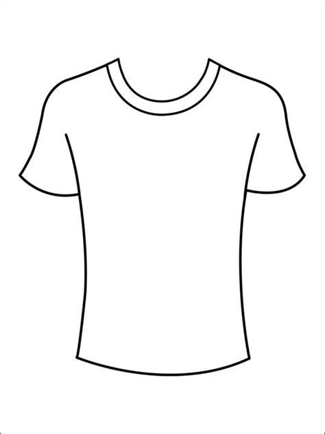Kleurplaat Shirt kleurplaat t shirts gratis kleurplaten coloring
