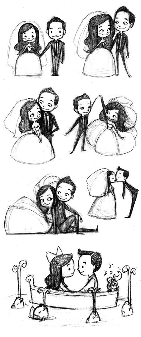 eloras sketchcan wedding stufffff