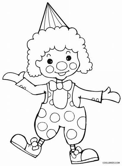 Pennywise Coloring Clown Pages Printable Scary Drawing