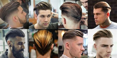 19 Slicked Back Hairstyles   Men's Haircuts   Hairstyles 2018