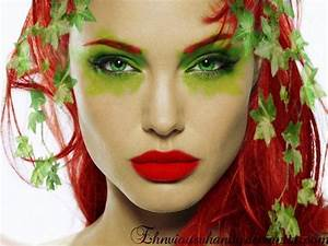 poison ivy batman makeup | Angelina Jolie as Poison Ivy by ...