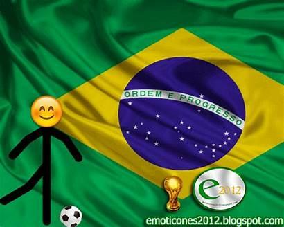 Brasil Mundial Animado Emoji Bandera Emojis Animados